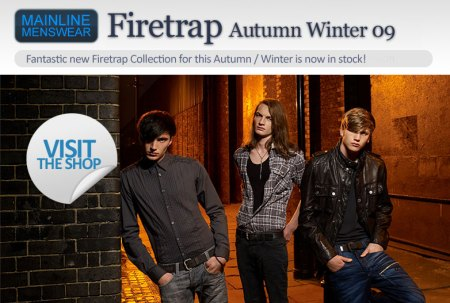 Firetrap Autumn Winter 09