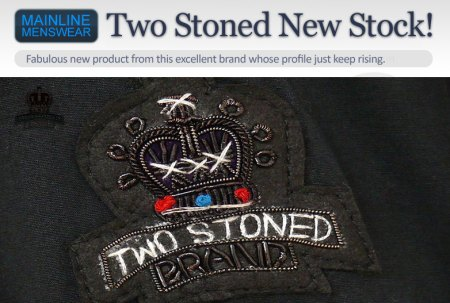 Two stoned New Stock